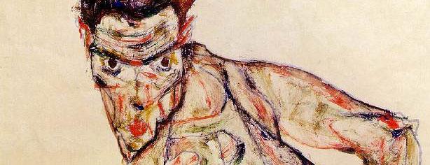 ZOMBIE SELF PORTRAIT by Egon Schiele