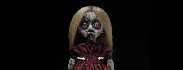 CREEPY ZOMBIE DOLLS by Shain Erin