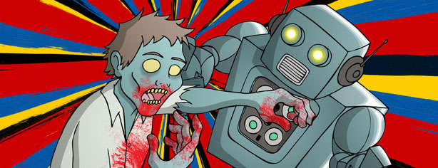ROBOTS FOR ZOMBIE DEFENSE?