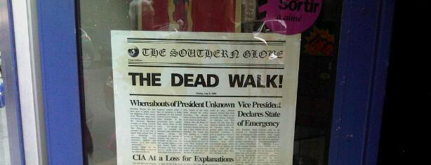 WALKING DEAD IN PARIS!