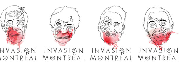ZOMBIES INVADE MONTREAL TODAY!