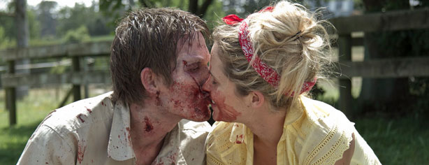 KISSING SPREADS THE ZOMBIE SICKNESS?