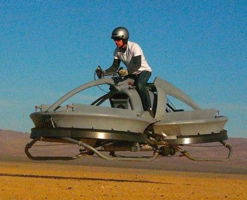 HOVER BIKE FOR ZOMBIE TRAVEL