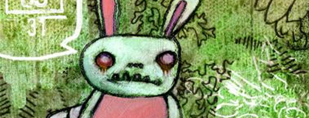 ZOMBIE BUNNIES by Cambria Evans
