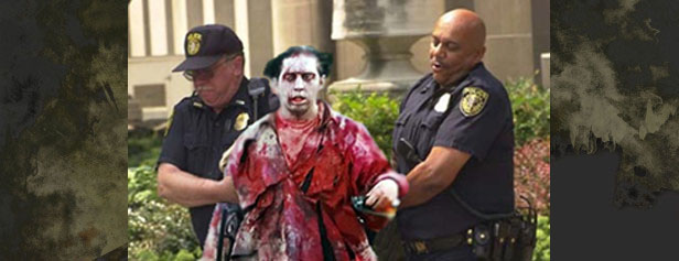 POLICE CALLED ON COLLEGE ZOMBIE GAME