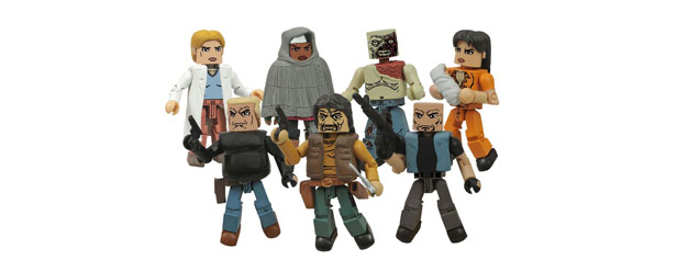 NEW WALKING DEAD MINIMATES