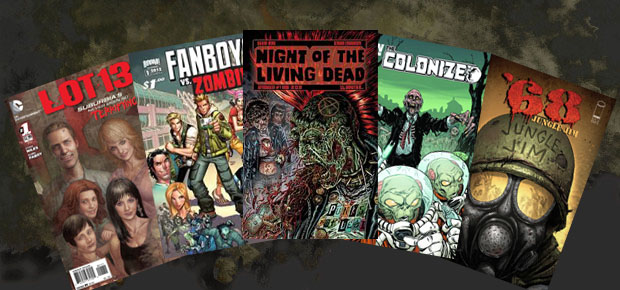 ZOMBIE COMIC BOOK ROUND-UP