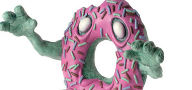 THE MAKING OF A ZOMBIE DOUGHNUT