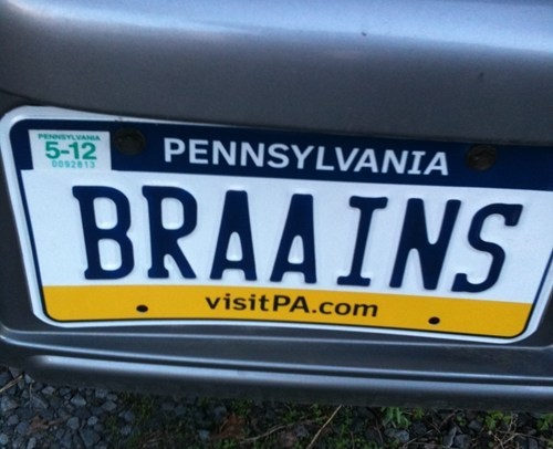Zombie License Plate 5
