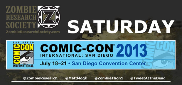 ZRS GUIDE TO COMIC-CON 2013: SATURDAY