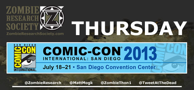 ZRS GUIDE TO COMIC-CON 2013: THURSDAY