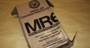 APOCALYPSE YUM: MRE CHICKEN PESTO PASTA