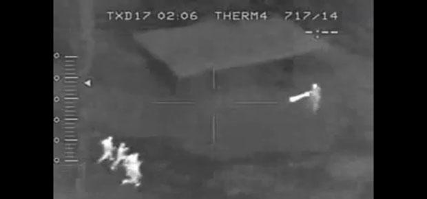 VIDEO: ZOMBIE ATTACK CAPTURED ON FLIR