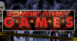 ZOMBIE ARMY GAMES THIS SATURDAY!