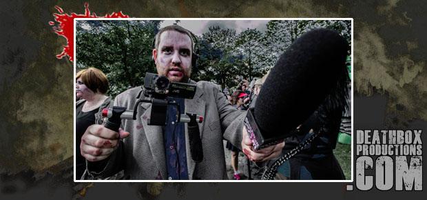 INTERVIEWED BY A ZOMBIE: HALIFAX ZOMBIE WALK 2013!