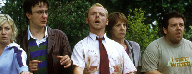 DID SIMON PEGG KILL SLOW ZOMBIES?