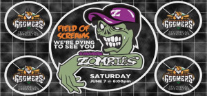 BASEBALL TEAM WILL BECOME ZOMBIES THIS SUMMER!