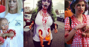 15 BEST PREGNANT ZOMBIE COSTUMES