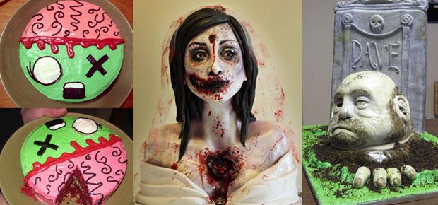 20 BEST ZOMBIE CAKES EVER!