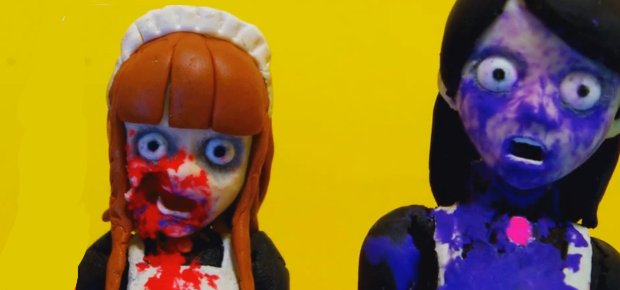 MAID OF THE DEAD — NEW JAPANESE CLAYMATION GORE