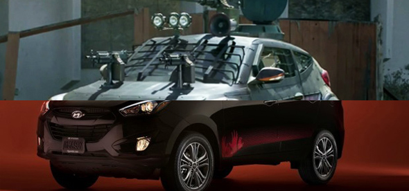 WALKING DEAD HYUNDAI TUCSON NOW AVAILABLE