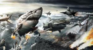 MUTANT FLYING NAZI ZOMBIE SHARKS