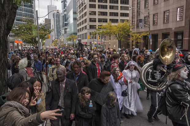 2013 Toronto Zombie Walk.  'Nuf said.